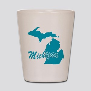 State Michigan Shot Glass