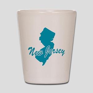 State New Jersey Shot Glass