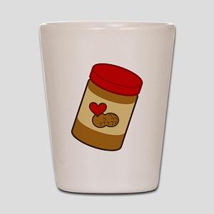 Jar of Peanut Butter Shot Glass