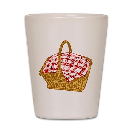 Picnic Basket Shot Glass