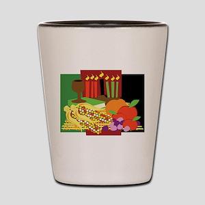 Kwanzaa Design Shot Glass
