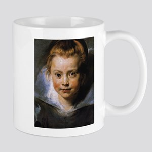 Portrait of a Young Girl Mug