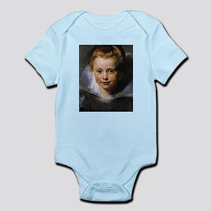 Portrait of a Young Girl Infant Bodysuit