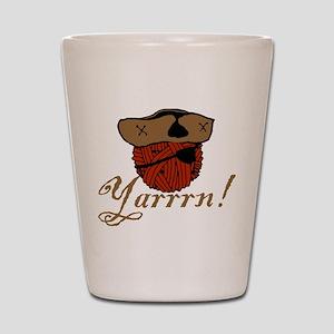 Yarrrn Shot Glass