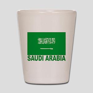 Saudi Arabia Flag Shot Glass