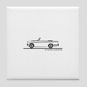 Triumph Herald Convertible Tile Coaster