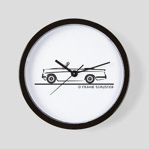 Triumph Herald Convertible Wall Clock