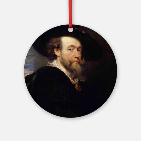 Self Portrait 1623 Ornament (Round)