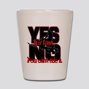 Yes It's Fast - No You Can't Shot Glass
