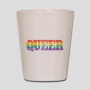 Retro Queer Shot Glass