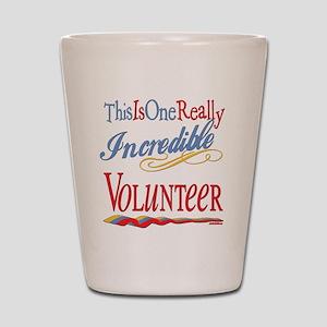 Incredible Volunteer Shot Glass