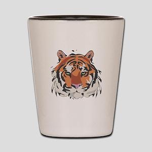 Tiger Shot Glass