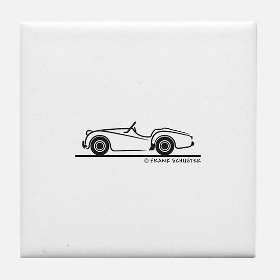 Triumph TR2 Roadster Tile Coaster