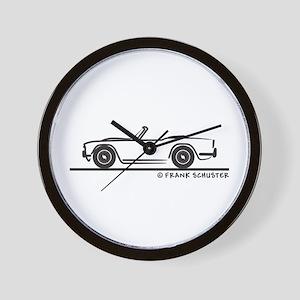 Triumph TR4 Wall Clock