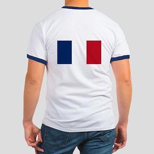 French Flag Ringer T