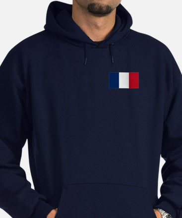 French Flag Hoodie (Dark)