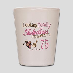 Fabulous 75th Shot Glass