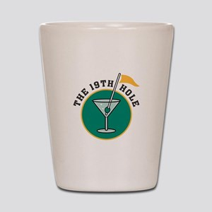The 19th Hole Shot Glass