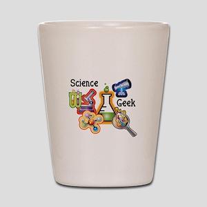 Science Geek Shot Glass