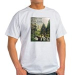 Camp Curry, Yosemite t-shirt--ash grey