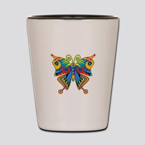 Retro Butterfly Shot Glass