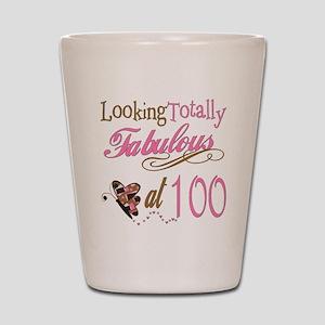 Fabulous 100th Shot Glass
