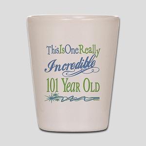 Incredible 101st Shot Glass