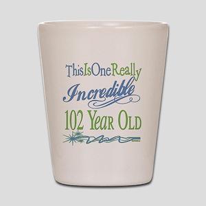 Incredible 102nd Shot Glass