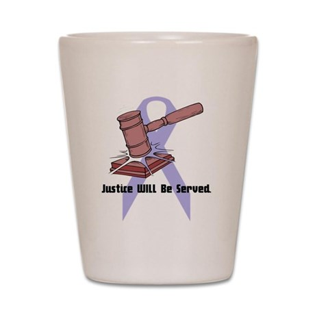Domestic Violence Justice Shot Glass