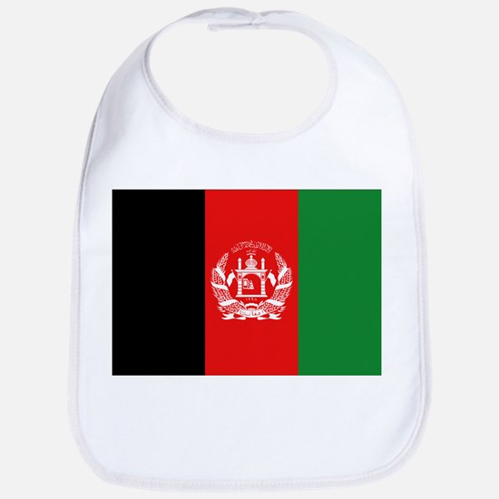 Afghan Flag Bib