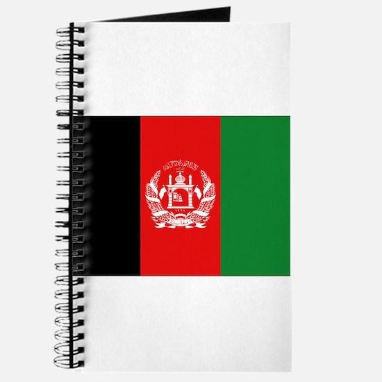 Afghan Flag Journal