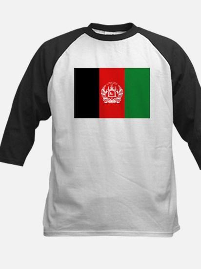 Afghan Flag Kids Baseball Jersey