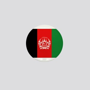 Afghan Flag Mini Button