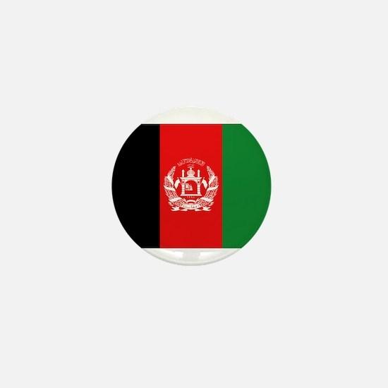 Afghan Flag Mini Button