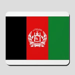 Afghan Flag Mousepad