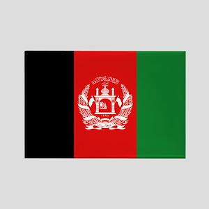 Afghan Flag Rectangle Magnet