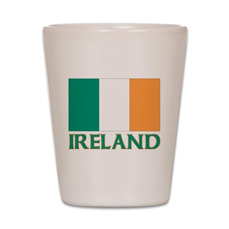 Irish flag Shot Glass