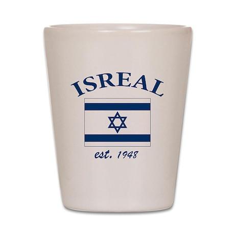 I love Isreal Shot Glass
