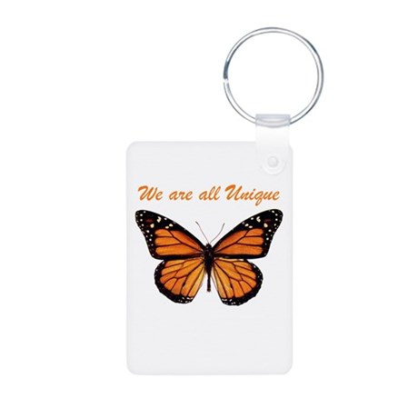 Butterflies Aluminum Photo Keychain