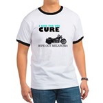 I ride for the cure Ringer T