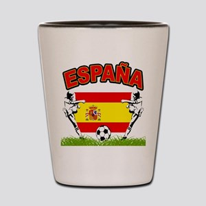 Spainish Soccer Shot Glass