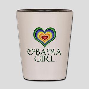 Obama Girl Shot Glass