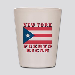 New York Puerto Rican Shot Glass