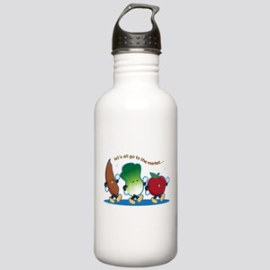Let's Go to the Market! Stainless Water Bottle 1.0