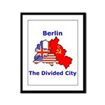 Berlin: The Divided City Framed Panel Print