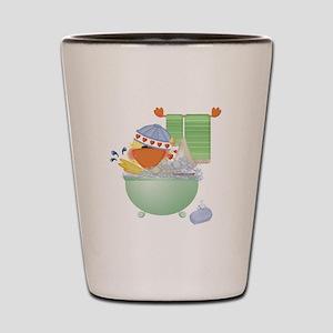 Cute Bathtime Ducky Shot Glass