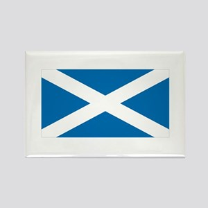 St. Andrews Cross Rectangle Magnet