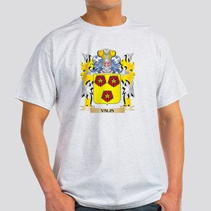 Valis Family Crest - Coat of Arms T-Shirt