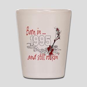 Born in 1995 Shot Glass