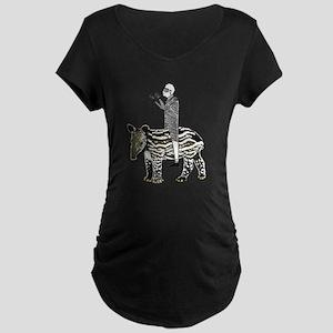 tapirRider Maternity Dark T-Shirt
